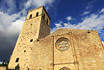 Iglesia de Santa Maria de Major church,  medieval town of Trujillo, Caceres province, Extremadura, Spain