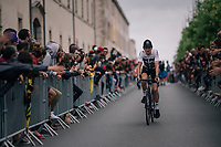 Geraint Thomas (GBR/SKY) at the Team presentation in La Roche-sur-Yon<br /> <br /> Le Grand D&eacute;part 2018<br /> 105th Tour de France 2018<br /> &copy;kramon