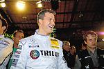 DTM Duesseldorf 2009<br /> Vorstellung und Eroeffnung<br /> Ralf Schumacher freut sich waehrend der Vorstellung auf die neue Saison.<br /> <br /> <br /> Foto © nph (nordphoto)