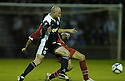 02/05/2007       Copyright Pic: James Stewart.File Name : sct_jspa08_raith_rovers_v_stirling_albion.KEVIN FOTHERINGHAM TAKES OUT STEVEN BELL.James Stewart Photo Agency 19 Carronlea Drive, Falkirk. FK2 8DN      Vat Reg No. 607 6932 25.Office     : +44 (0)1324 570906     .Mobile   : +44 (0)7721 416997.Fax         : +44 (0)1324 570906.E-mail  :  jim@jspa.co.uk.If you require further information then contact Jim Stewart on any of the numbers above.........