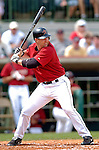 10 March 2006: Jason Lane, outfielder for the Houston Astros, at bat during a Spring Training game against the Washington Nationals. The Astros defeated the Nationals 8-6 at Osceola County Stadium, in Kissimmee, Florida...Mandatory Photo Credit: Ed Wolfstein..