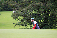 Gerard Dunne (Co. Louth) on the 2nd during round 1 of The Mullingar Scratch Cup in Mullingar Golf Club on Sunday 3rd August 2014.<br /> Picture:  Thos Caffrey / www.golffile.ie