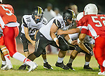 Lawndale, CA 09/26/14 - Jacob Rathbun (Peninsula #51) in action during the Palos Verdes Peninsula vs Lawndale CIF Varsity football game at Lawndale High School.  Lawndale defeated Peninsula 42-21