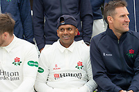 Picture By Allan McKenzie/SWpix.com - 11/04/18 - Cricket - Lancashire County Cricket Club Photo Call Media Day 2018 - Emirates Old Trafford, Manchester, England - Shivnarine Chanderpaul.