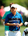 ANTHONY KIM, during practice round of the Quail Hollow Championship, on April 28, 2009 in Charlotte, NC.