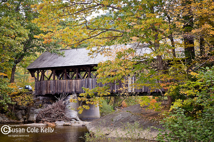 Sunday River covered bridge, Newry, ME