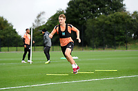 George Byers of Swansea City in action during the Swansea City Training Session at The Fairwood Training Ground, Wales, UK. Tuesday 11th September 2018