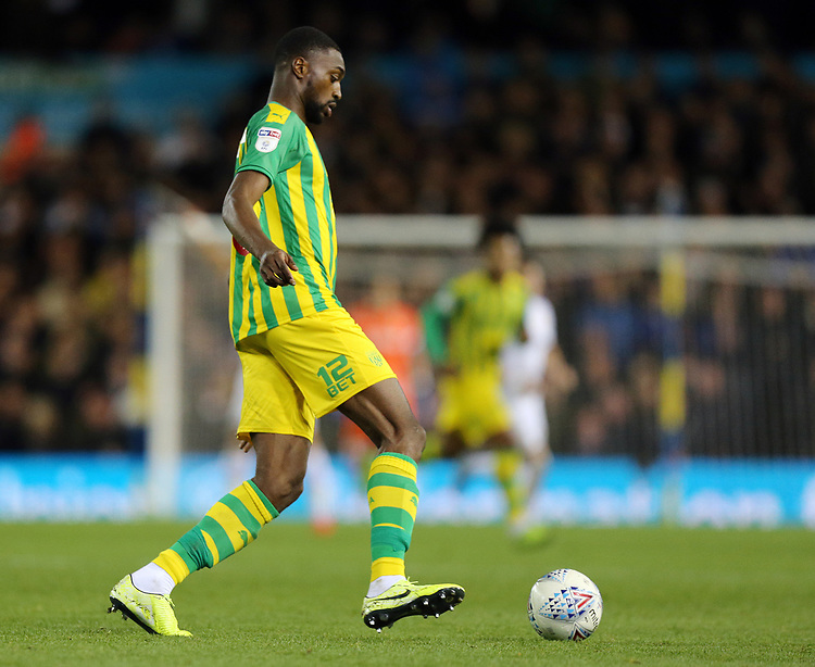 West Bromwich Albion's Semi Ajayi<br /> <br /> Photographer Rich Linley/CameraSport<br /> <br /> The EFL Sky Bet Championship - Tuesday 1st October 2019  - Leeds United v West Bromwich Albion - Elland Road - Leeds<br /> <br /> World Copyright © 2019 CameraSport. All rights reserved. 43 Linden Ave. Countesthorpe. Leicester. England. LE8 5PG - Tel: +44 (0) 116 277 4147 - admin@camerasport.com - www.camerasport.com