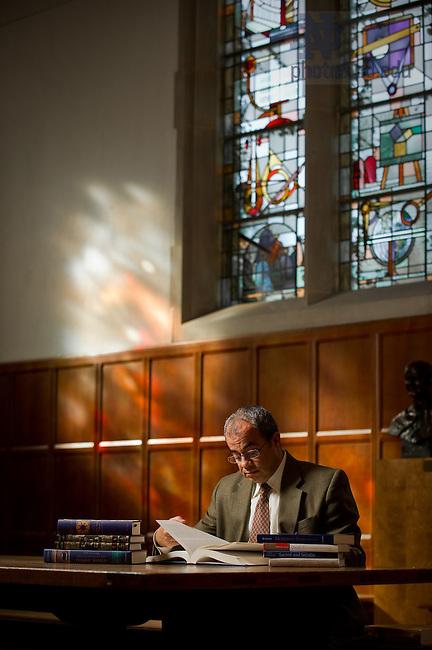 Kroc Institute professor Emad Shahin..Photo by Matt Cashore/University of Notre Dame