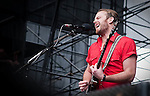 Caleb Followill - lead vocals, rhythm guitar for Kings of Leon at Discovery Green - Final Four Tour