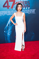 Los Angeles, CA - AUGUST 13th: <br /> Brianne Tju attends the 47 Meters Down: Uncaged premiere at the Regency Village Theater on August 13th 2019. Credit: Tony Forte/MediaPunch