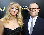 Sonia Friedman and Colin Callender attends the Broadway Opening Day performance of 'Harry Potter and the Cursed Child Parts One and Two' at The Lyric Theatre on April 22, 2018 in New York City.