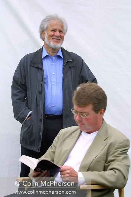 Canadian Booker prize-winning authorand poet Michael Ondaatje pictured at the Edinburgh International Book Festival where he gave a talk about his work, including his latest novel 'Anil's Ghost' set in the land of his birth, Sri Lanka..