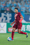 Shanghai FC Forward Givanildo Vieira De Sousa (Hulk) in action during the AFC Champions League 2017 Round of 16 match between Jiangsu FC (CHN) vs Shanghai SIPG FC (CHN) at the Nanjing Olympic Stadium on 31 May 2017 in Nanjing, China. Photo by Marcio Rodrigo Machado / Power Sport Images