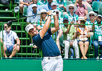 Christiaan Bezuidenhout (RSA) on the 1st tee during the first round at the Nedbank Golf Challenge hosted by Gary Player,  Gary Player country Club, Sun City, Rustenburg, South Africa. 14/11/2019 <br /> Picture: Golffile | Tyrone Winfield<br /> <br /> <br /> All photo usage must carry mandatory copyright credit (© Golffile | Tyrone Winfield)