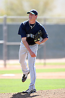 Brian Cloud, Seattle Mariners minor league spring training..Photo by:  Bill Mitchell/Four Seam Images.