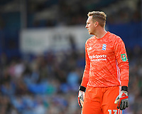 David Stockdale of Birmingham City during Portsmouth vs Birmingham City, Caraboa Cup Football at Fratton Park on 6th August 2019