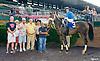 Patrolikeachampion winning at Delaware Park on 7/30/16<br /> Katie Davis' 1st win as a journeyman