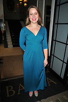 Minnie Ayres at the TriForce Short Film Festival gala ceremony 2018, BAFTA, Piccadilly, London, England, UK, on Saturday 01 December 2018.<br /> CAP/CAN<br /> &copy;CAN/Capital Pictures