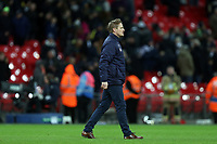 AFC Wimbledon manager Neal Ardley after Tottenham Hotspur vs AFC Wimbledon, Emirates FA Cup Football at Wembley Stadium on 7th January 2018