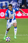 Luciano Neves of Club Deportivo Leganes during the match of La Liga between Deportivo Leganes and Union Deportiva Las Palmas  Butarque Stadium  in Madrid, Spain. April 25, 2017. (ALTERPHOTOS/Rodrigo Jimenez)