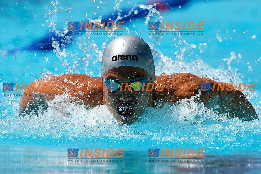 Piero Codia Italia 100m Butterfly Men <br /> Roma 13/6/2013 Piscina del Foro Italico <br /> Nuoto 50mo trofeo Settecolli<br /> Settecolli 50th International swimming trophy <br /> Foto Andrea Staccioli Insidefoto