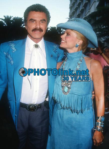 Burt Reynolds Loni Anderson<br /> 1992<br /> Photo By Michael Ferguson/CelebrityArchaeology.com