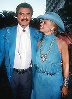 Burt Reynolds Loni Anderson<br /> 1992<br /> Photo By Michael Ferguson/CelebrityArchaeology.com