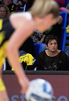 Pulse coach Yvette McCausland-Durie watches the ANZ Premiership netball match between the Central Pulse and Northern Stars at Te Rauparaha Arena in Wellington, New Zealand on Wednesday, 24 May 2017. Photo: Dave Lintott / lintottphoto.co.nz