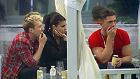 Celebrity Big Brother 2017<br /> Sam Thompson, Marissa Jade, Jordan Davies<br /> *Editorial Use Only*<br /> CAP/KFS<br /> Image supplied by Capital Pictures