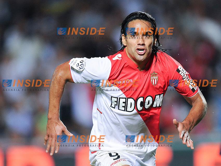 Radamel FALCAO - ATTITUDE - JOIE<br /> Football Calcio 2013/2014 <br /> Francia Ligue 1<br /> Foto Panoramic / Insidefoto