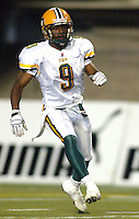Winston October Edmonton Eskimos. Photo Scott Grant
