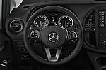 Car pictures of steering wheel view of a 2016 Mercedes Benz Metris Cargo-Van 4 Door Cargo Van Steering Wheel