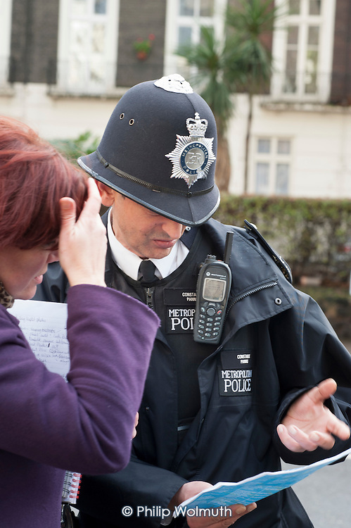 Metropolitan Police Constable, Paddington.