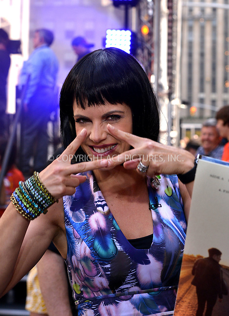 WWW.ACEPIXS.COM<br /> <br /> June 12 2015, New York City<br /> <br /> Presenter Natalie Morales danced whilst Rock band 'Fall Out Boy' performed live on 'The Today Show' on June 12 2015 in New York City<br /> <br /> By Line: Curtis Means/ACE Pictures<br /> <br /> <br /> ACE Pictures, Inc.<br /> tel: 646 769 0430<br /> Email: info@acepixs.com<br /> www.acepixs.com