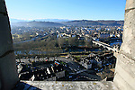 20080110 - France - Aquitaine - Pau<br /> VUES DEPUIS LE CHATEAU DE PAU SUR LA VILLE, LE GAVE ET LES PYRENEES.<br /> Ref : PAU_057.jpg - © Philippe Noisette.