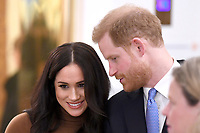 07/01/2020 - Prince Harry Duke of Sussex and Meghan Duchess of Sussex Markle during a visit to Canada House, in London, in thanks for the warm Canadian hospitality and support they received during their recent stay in Canada. Photo Credit: ALPR/AdMedia