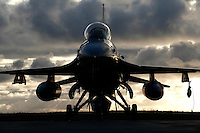 Lockheed Martin F-16 Fighting Falcon from Belgian Air Force 349 squadron. BOLD AVENGER 2007 (BAR 07), a NATO  air exercise at Ørland Main Air Station, Norway. BAR 07 involved air forces from 13 NATO member nations: Belgium, Canada, the Czech Republic, France, Germany, Greece, Norway, Poland, Romania, Spain, Turkey, the United Kingdom and the United States of America. The exercise was designed to provide training for units in tactical air operations, involving over 100 aircraft, including combat, tanker and airborne early warning aircraft and about 1,450 personnel.