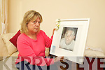 Pauline McDonald with a photo of her son Shane who died two years ago at 25.