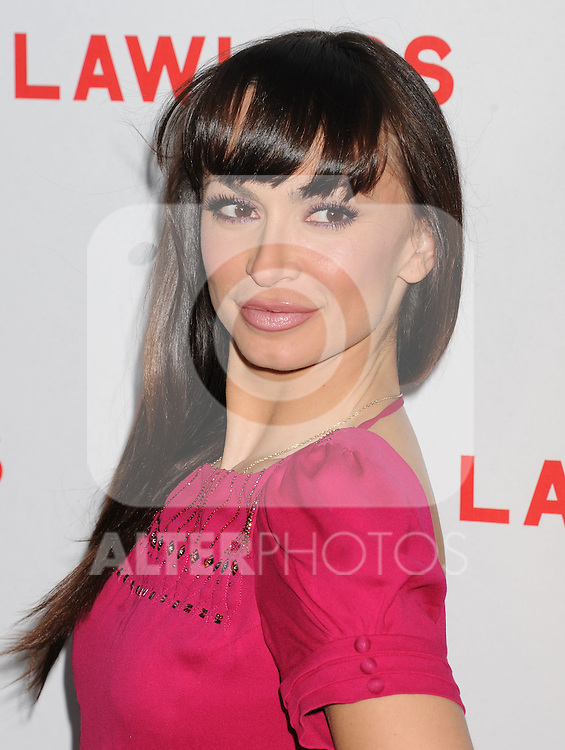 HOLLYWOOD, CA - AUGUST 22: Karina Smirnoff arrives at the 'Lawless' Los Angeles Premiere at ArcLight Cinemas on August 22, 2012 in Hollywood, California. /NortePhoto.com....**CREDITO*OBLIGATORIO** *No*Venta*A*Terceros*..*No*Sale*So*third* ***No*Se*Permite*Hacer Archivo***No*Sale*So*third*
