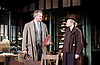 An Enemy of the People <br /> by Henrik Ibsen <br /> a version by Christopher Hampton <br /> at Chichester Festival Theatre, Chichester, West Sussex, Great Britain <br /> Press photocell <br /> 29th April 2016 <br /> <br /> Hugh Bonneville as Dr Tomas Stockmann <br /> <br /> <br /> Abigail Cruttenden as Mrs Stockmann <br /> <br /> <br /> <br /> <br /> Photograph by Elliott Franks <br /> Image licensed to Elliott Franks Photography Services