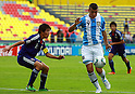 Jumpei Arai (JPN), Lucas Vera (ARG), JUNE 24, 2011 - Football : 2011 FIFA U-17 World Cup Mexico Group B match between Japan 3-1 Argentina at Estadio Morelos in Morelia, Mexico. (Photo by MEXSPORT/AFLO)..