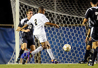 Florida International University men's soccer player Colby Burdette (2)  plays against Florida Atlantic University on August 28, 2011 at Miami, Florida.  The game ended in a 1-1 overtime tie. .