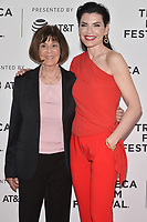 "NEW YORK - APRIL 30:  Julianna Margulies and Lt. Col. Nancy Jaax attend the 2019 Tribeca Film Festival premiere of National Geographic's Three-Night Limited Series ""The Hot Zone"" which premieres Monday, May 27 at 9/8c. (Photo by Anthony Behar/National Geographic/PictureGroup)"