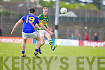 Colm Cooper, Kerry in action against Shane Leahy in the first round of the Munster Football Championship at Fitzgerald Stadium on Sunday.