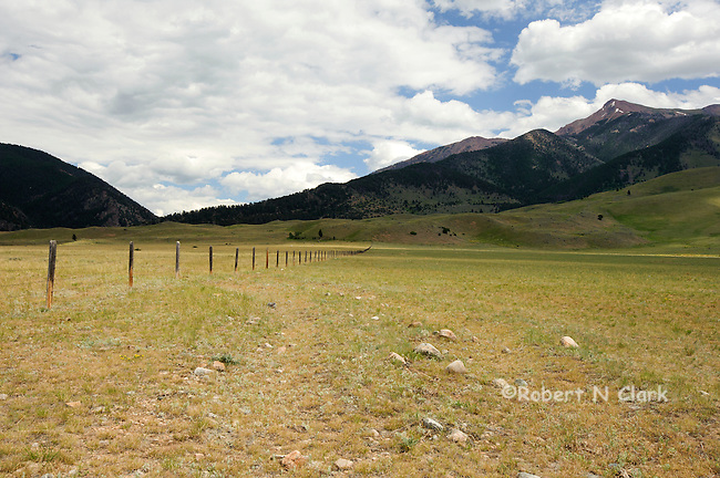 Indian Creek area, Montana