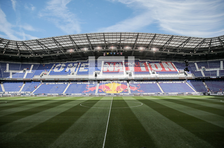 Harrison, N.J. - Friday September 01, 2017: Red Bull Arena during a 2017 FIFA World Cup Qualifying (WCQ) round match between the men's national teams of the United States (USA) and Costa Rica (CRC) at Red Bull Arena.