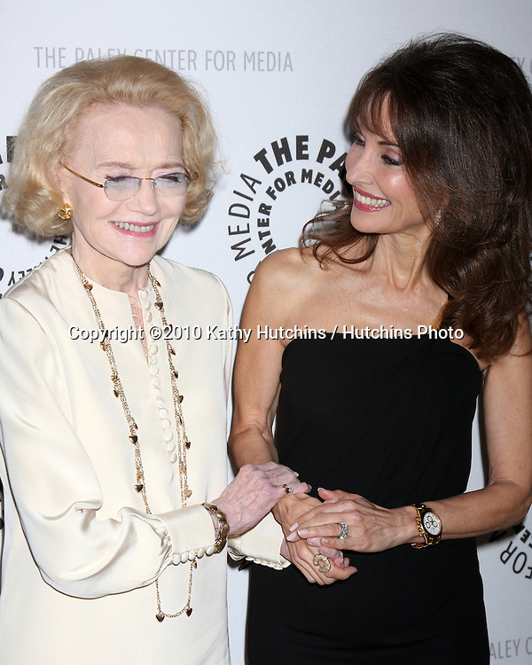 """Agnes Nixon & Susan Lucci.arriving at  """"An Evening with All My Children"""" presented by The Paley Center for Media and AFTRA.Paley Center for Media.Beverly Hills, , CA.January 21, 2010.©2010 Kathy Hutchins / Hutchins Photo...."""
