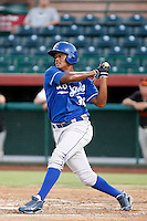Jorge Bonifacio - AZL Royals.Photo by:  Bill Mitchell/Four Seam Images..