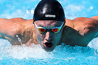 Commonwealth Games - Swimming - Optus Aquatics Centre, Gold Coast, Australia - Bradlee Ashby of New Zealand competes in the Men's 200m Butterfly heats.. 7 April 2018. Picture by Alex Whitehead / www.photosport.nz